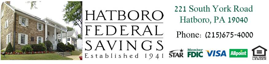Hatboro Federal Savings - Grand Sponsor